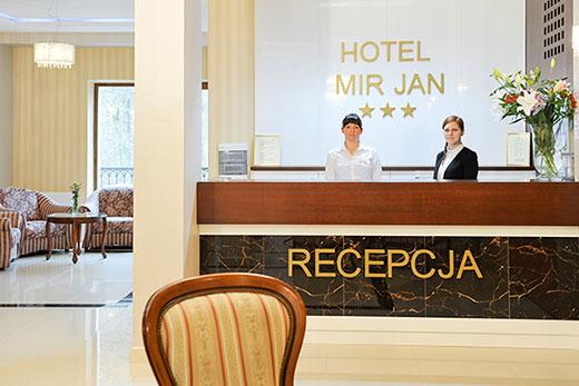 "Phone to the Hotel ""Mir-Jan"" in Ladek Zdroj"